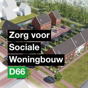 motie sociale woningbouw
