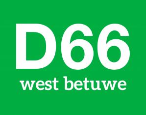 logo D66 west betuwe