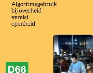 Algoritmegebruik vereist openheid